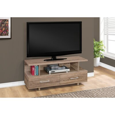 Liverpool 48 TV Stand Color: Dark Taupe