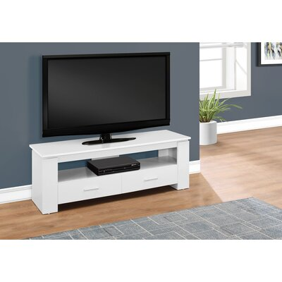 Sadie 47 TV Stand Color: White