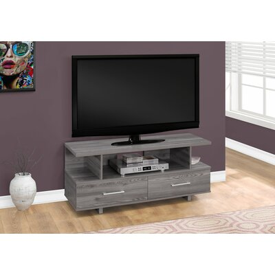 Liverpool 48 TV Stand Color: Gray
