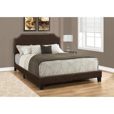 Lanark Queen Upholstered Panel Bed