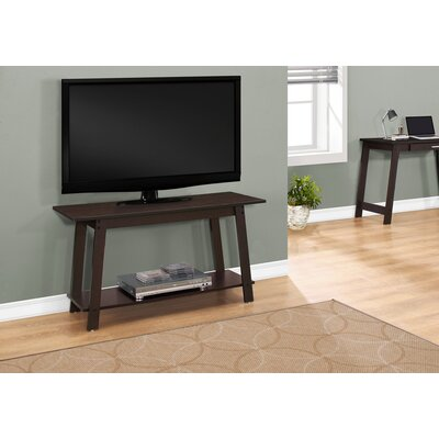 Livingston 42 TV Stand Color: Cappuccino
