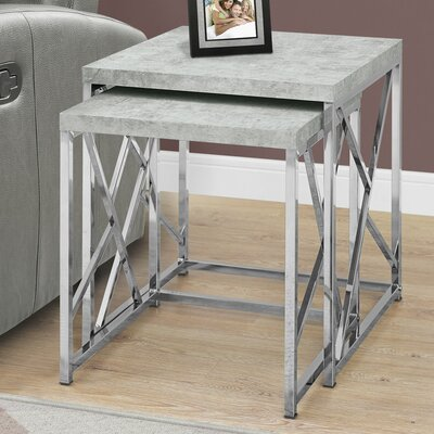 Dace 2 Piece Nesting Tables
