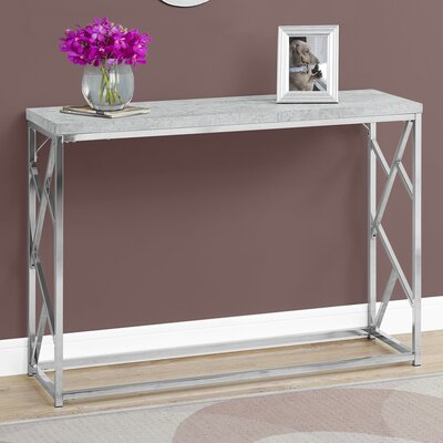 Dacey Metal Console Table