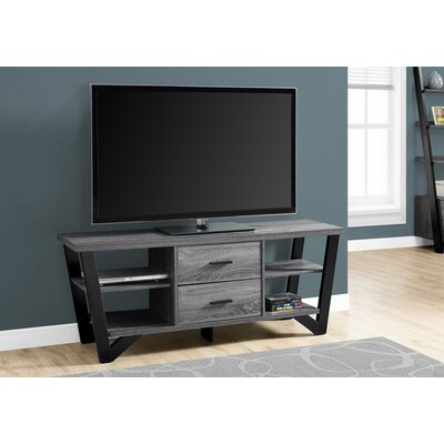 Montgomery 15.5 TV Stand Color: Black