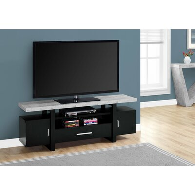 MontBlue 60 TV Stand Color: Black