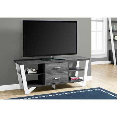 Montgomery 15.5 TV Stand Color: White