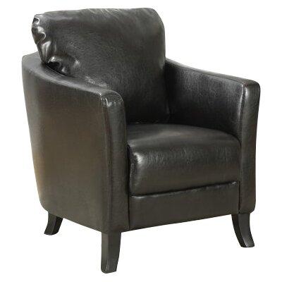 Armchair Upholstery: Dark Brown