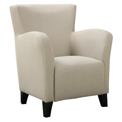 Linen Armchair Upholstery: Taupe