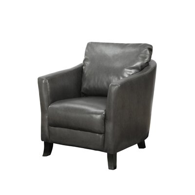 Armchair Upholstery: Charcoal Grey