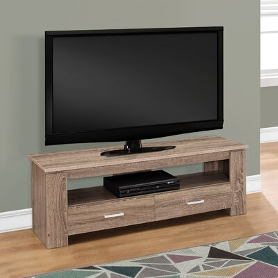 Sadie 47 TV Stand Color: Dark Taupe