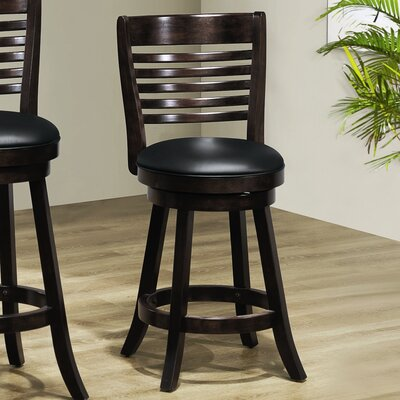 Counter Height Stool in Cappuccino (Set of 2)