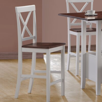 In store financing Counter Height Bar Stools in White ...