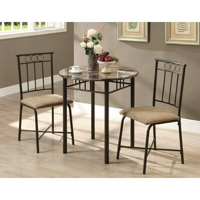 Geneseo 3 Piece Dining Set II