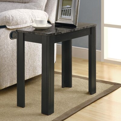 End Table Color: Black / Grey