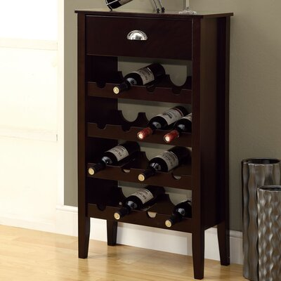 16 Bottle Floor Wine Rack