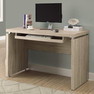 Computer Desk Finish: Natural