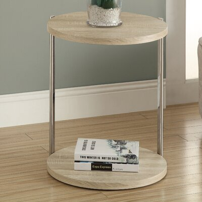 Conor End Table Color: Natural