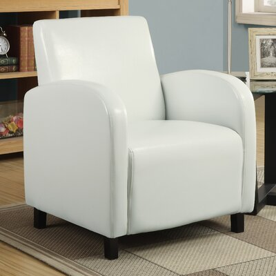 Leather Look Arm Chair