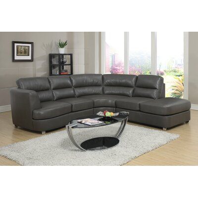 Sectional Upholstery: Dark Grey