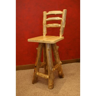 "In store financing Summit Peak Barstool Size: 24""..."