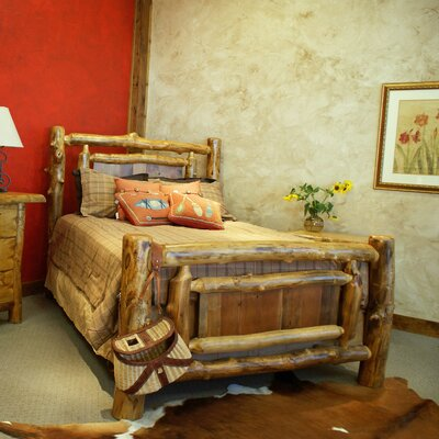 Furniture rental Yukon Panel Bed Size: King...