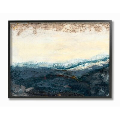 'The Sea In The Morning' Print Format: Black Frame, Size: 11