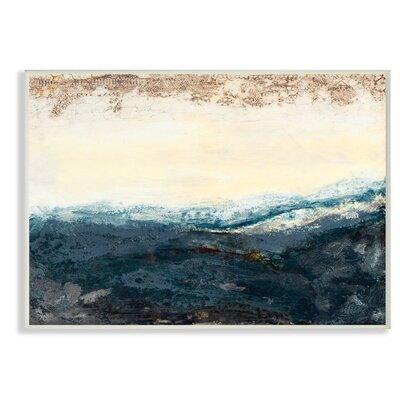 'The Sea In The Morning' Print Format: Plaque, Size: 10