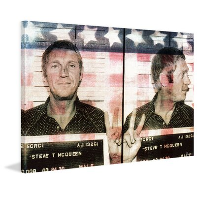 Steve Painting Print on Wrapped Canvas Size: 40