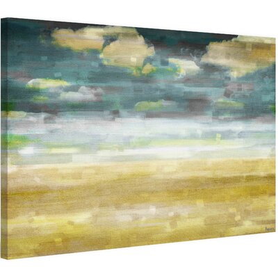 Distant Sands Painting Print on Wrapped Canvas Size: 40