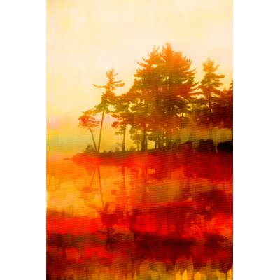 Kenora Painting Print on Wrapped Canvas Size: 24
