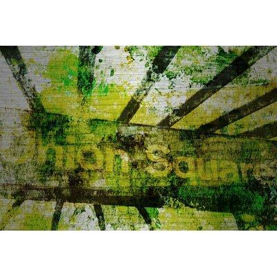 Union Square Painting Print on Brushed Aluminum Size: 30