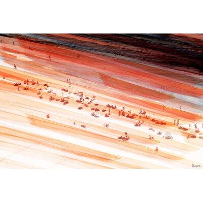 """'Zona Sul' by Parvez Taj Painting Print on Wrapped Canvas Size: 12"""" H x 18"""" W SA-05-C-18"""