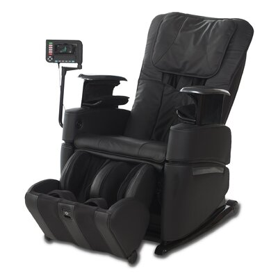 OS-3D Pro Intelligent Heated Massage Chair Upholstery: Clay