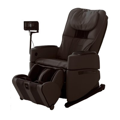 OS-3D Pro Intelligent Heated Massage Chair Upholstery: Brown
