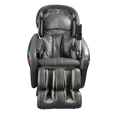 Heated Massage Chair Upholstery: Charcoal