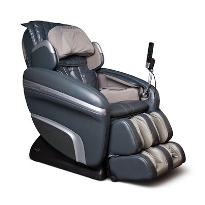 OS-7200 H Heated Reclining Massage Chair Upholstery: Charcoal