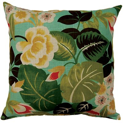 Isla Knife Edge Throw Pillow Color: Seabreeze
