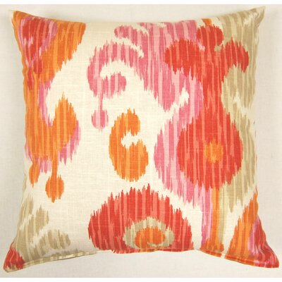Journey Knife Edge Throw Pillow Color: Fruity