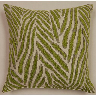 Canal Knife Edge Throw Pillow Color: Lime