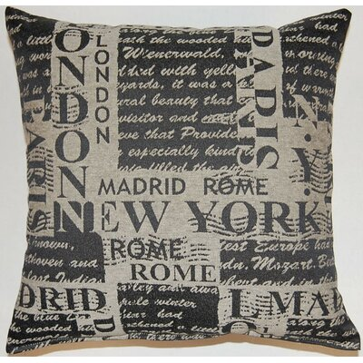 Grand Tour KE Throw Pillow