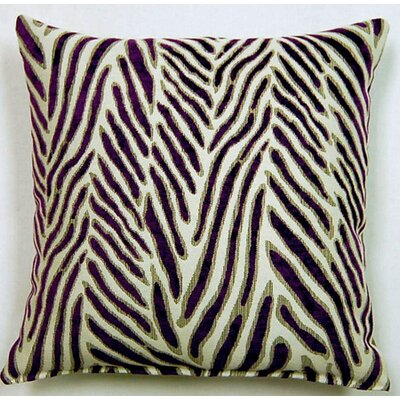 Canal Knife Edge Throw Pillow Color: Purple