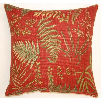 Fair Oaks Scarlet Throw Pillow