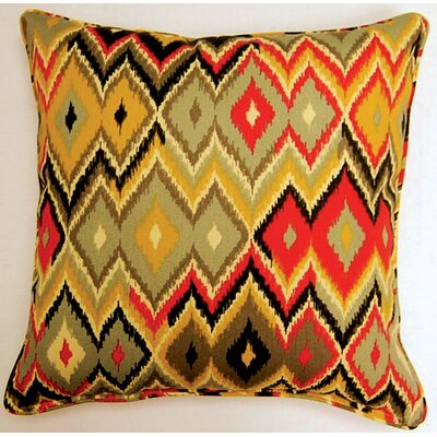 Marva Corded Indoor/Outdoor Throw Pillow Color: Volcano