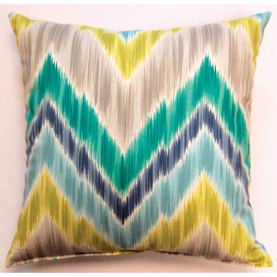 Creative Home Tribal Find Knife Edge Pillow (Set of 2) - Color: Aquamarine at Sears.com
