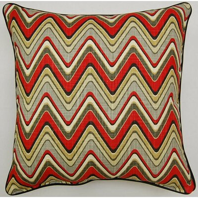Sand Art Corded Cotton Throw Pillow Color: Graphite