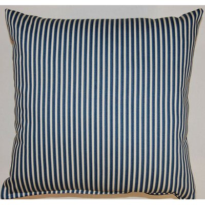 Cornell Indigo Cotton Throw Pillow