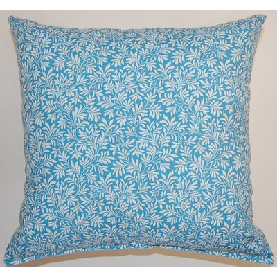 Parson Cotton Throw Pillow Color: Cornflower
