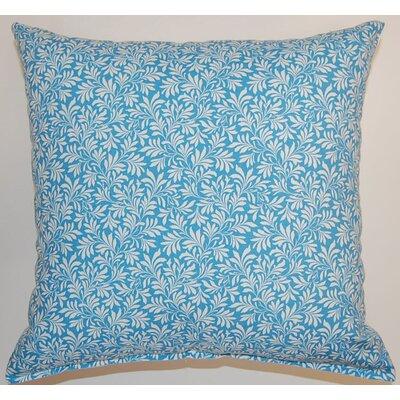 Parson Cotton Throw Pillow Color: Cornflower