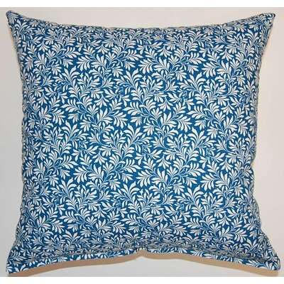 Parson Cotton Throw Pillow Color: Mariner