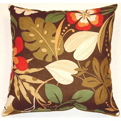 Fun Floral Throw Pillow